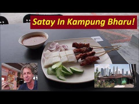 Kampung Bharu & the 5-Snack Challenge - Traditional Malaysia