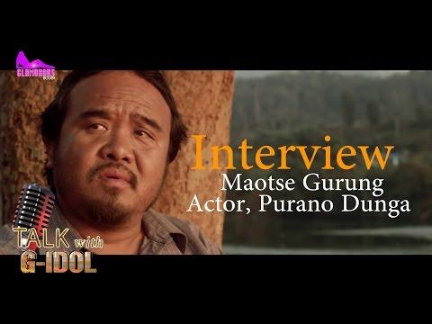 "Maotse Gurung ||MAAJHI -  PURANO DUNGA||Talk With G-Idol"""