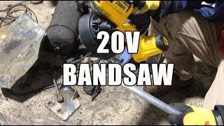 Dewalt 20v Compact Bandsaw -- Dcs371