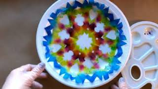 The Tie Dye Snowflake