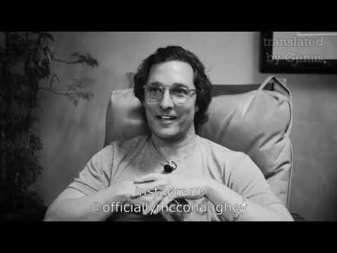 Мэттью Макконахи о съемках в фильме Волк с Уолл-стрит. Сцена в ресторане.