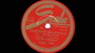 Andersson med saxofon - Helge Mauritz w. Arena orkestern (1938)