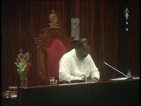 Parliament of Srilanka - 11 November 2016 Part 9