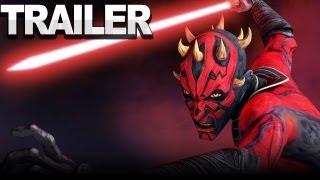 Star Wars: The Clone Wars - Darth Maul Interview Trailer