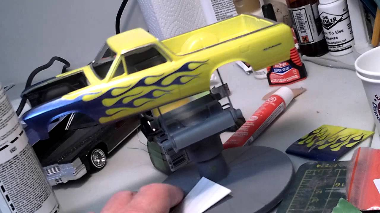 Model Car Tips Painting
