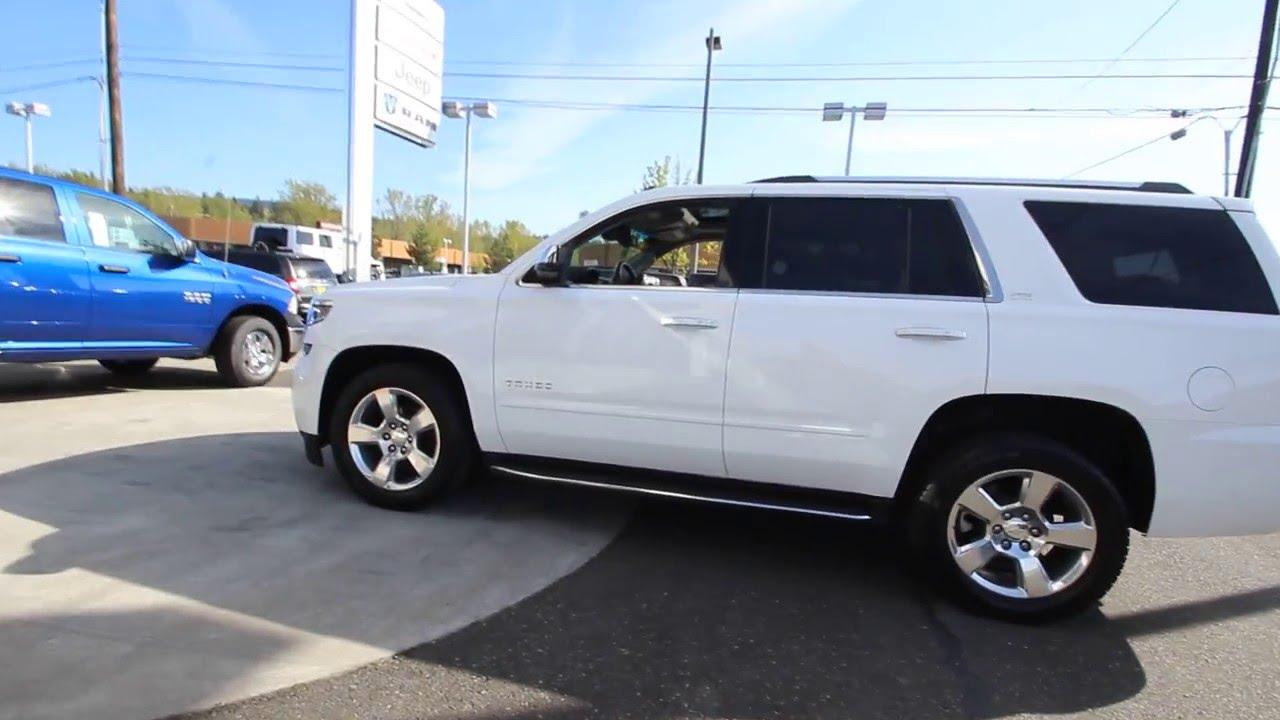 2015 Chevrolet Tahoe LTZ   White   FR222399   Mt Vernon ...