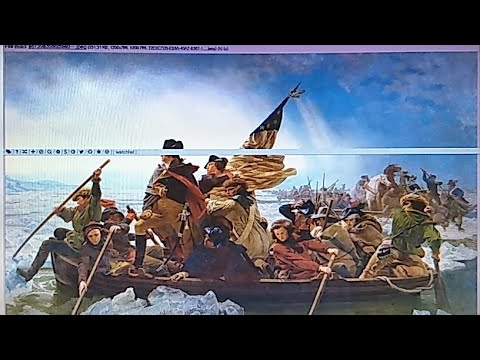 Q Posts Washington Crossing The Delaware