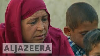 Unemployed Afghan widows forced to beg