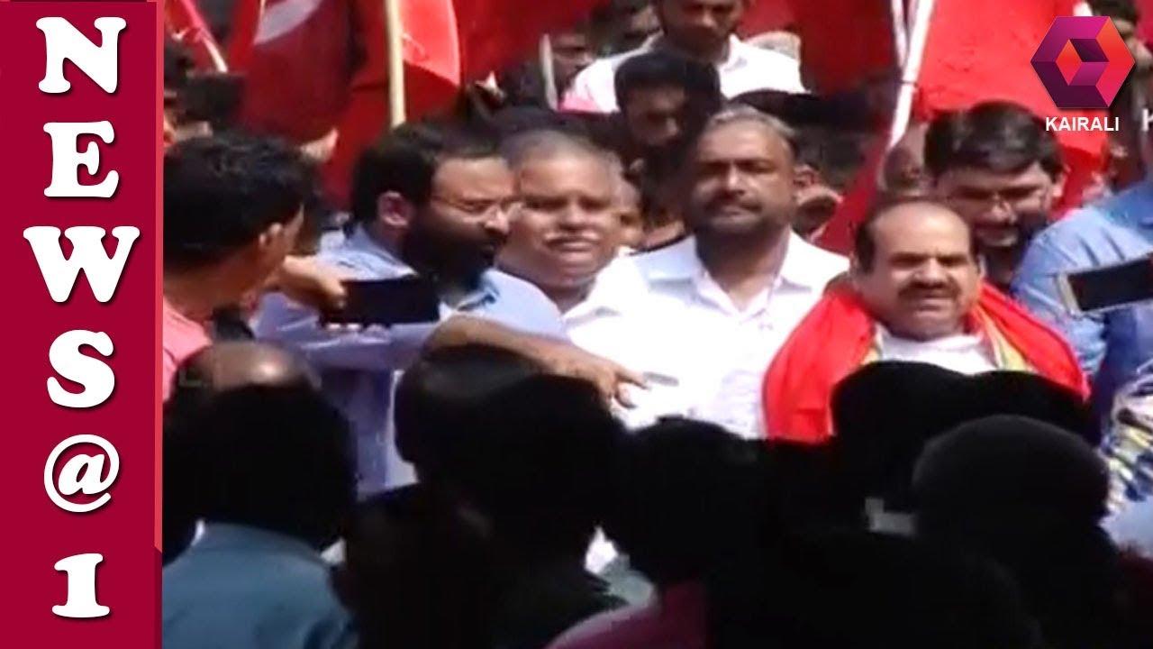 ജനജാഗ്രതായാത്ര പാലക്കാട് ജില്ലയിൽ പ്രവേശിച്ചു