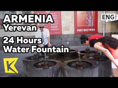 【K】Armenia Travel-Yerevan[아르메니아 여행-예레반]기독교 국교, 24시간 식수대/Christianity/Water Fountain/state religion