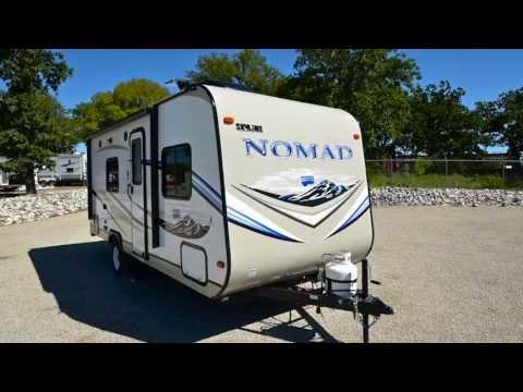 2014 NOMAD 183 Travel Trailer From BENNETT'S CAMPING CENTER