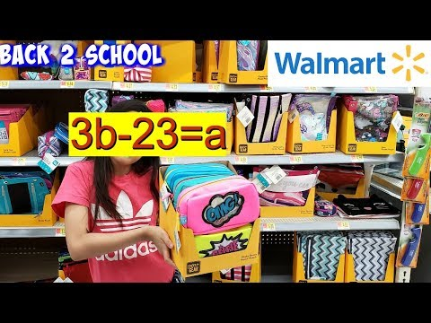 WALMART * BACK TO SCHOOL SHOPPING UPDATE JULY 2019 * COME WITH ME