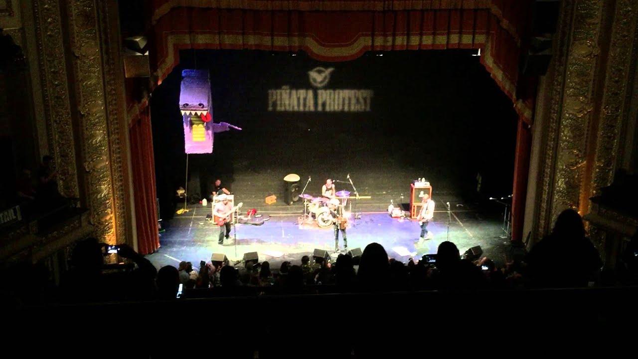 Piñata Protest At The Empire Theater,San Antonio Tx.