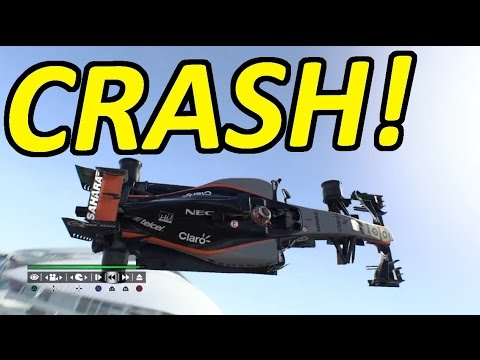 Biggest F1 2015 Crashes, Fails & Glitches!