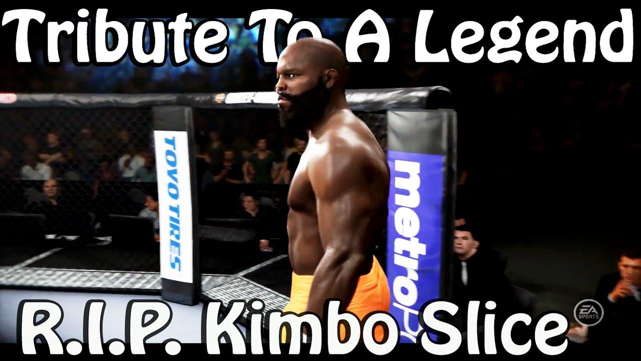 tribute to a legend rip kimbo slice ufc 2 career mode youtube