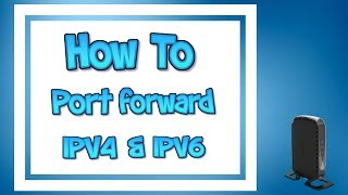 How to Port Forward -2017 [THE CORRECT WAY!]