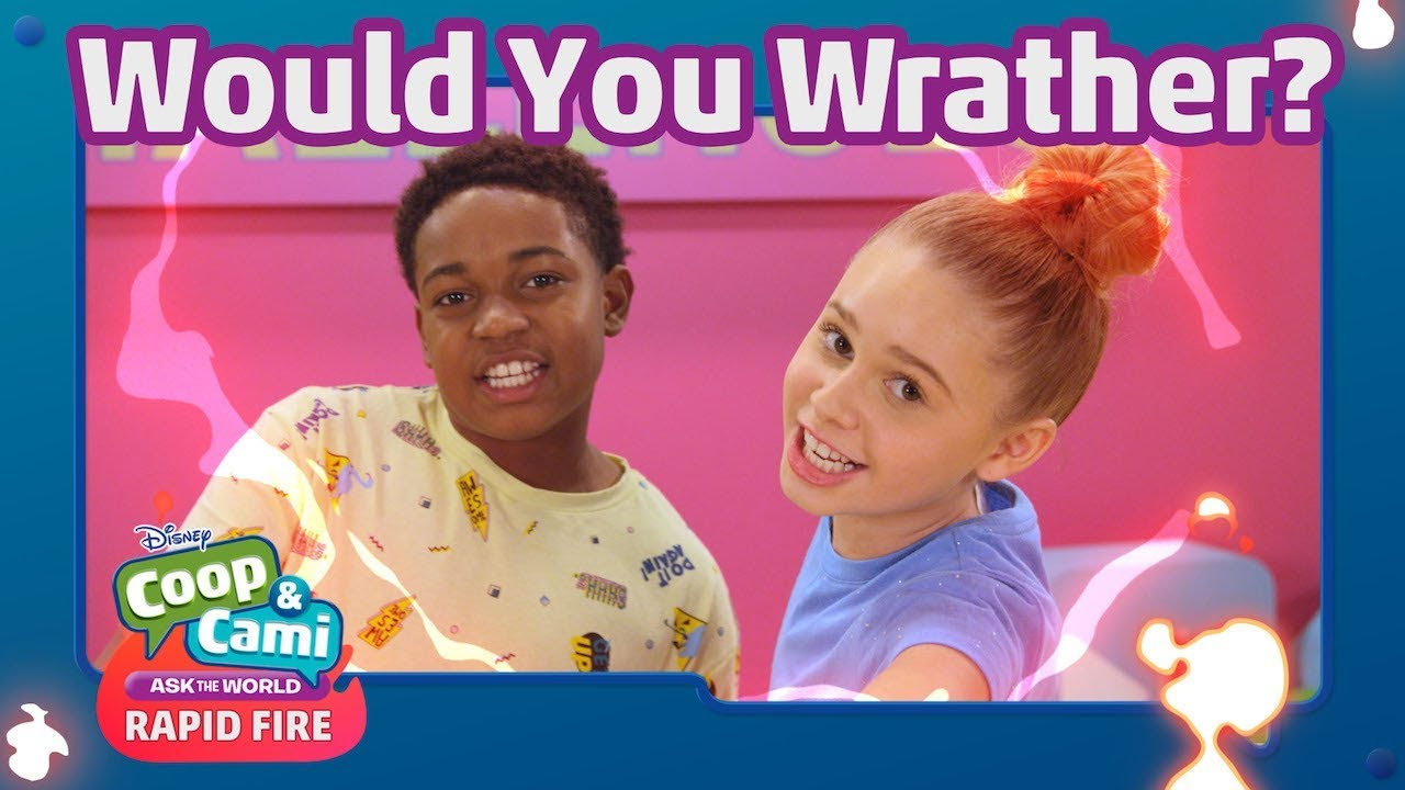 Download Rapid Fire Challenge   Coop & Cami Ask the World   Disney Channel