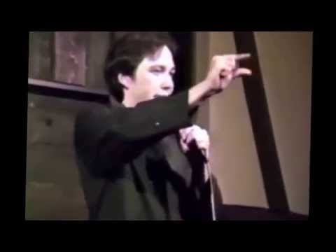 Bill Hicks ★ Early Comedy Show ★ at the ANNEX Houston, TX 1986