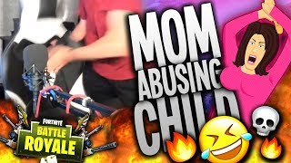 Mom Abusing Child on FORTNITE 2! (Hilarious Voice Impression Reactions!) | Best In Class
