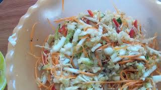 Салат из пекинской капусты по корейски.