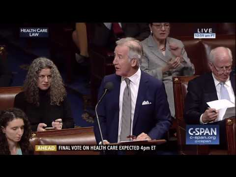 (D) Rep. Richard Neal makes fiery speech about healthcare 3/24/17