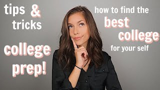 how to choose the best fit college!