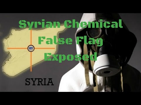 Syrian Chemical False Flag Exposed