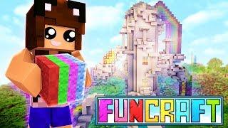 MY RAINBOW TOWER! | Minecraft FunCraft...