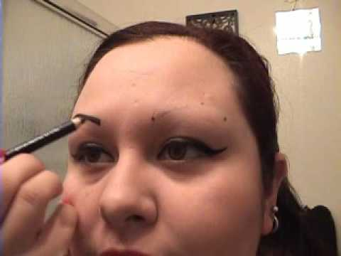 how to draw on eyebrows w o starter hairs youtube