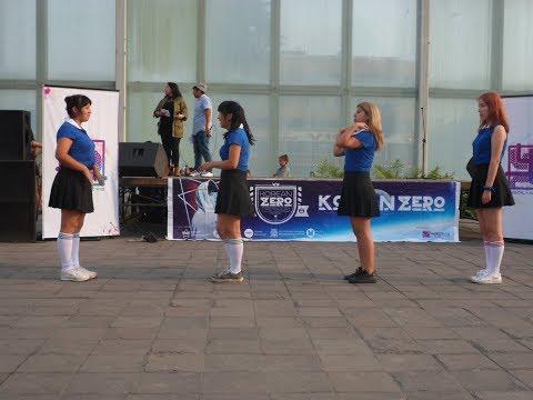 Dance Cover de  Red Velvet (Russian Roulette) en el kpop zero2(plaza manco capac)Lima-Perú