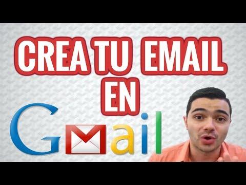 Cómo Crear Un Correo Electrónico O Email Con Gmail Youtube