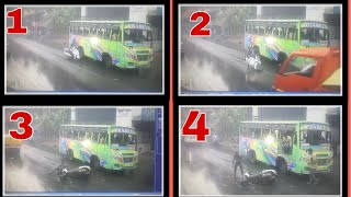Malappuram Musliyarangadi Bike and Bus Accident Video | ബല്ലാത്ത ജാതി ഭാഗ്യം ~ Malabar Hub