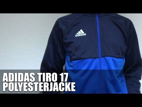 Adidas Tiro 17 Trainingsjacke collegiate navy energy