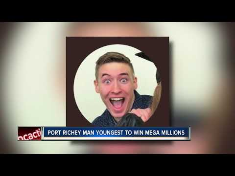Port Richey man youngest to win Mega Millions