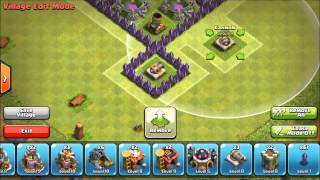 Clash Of Clans: Town Hall 7 Farming Base (The Heart)
