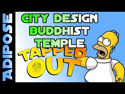 Simpsons Tapped out-Buddhist Temple City Design-Livestream Highlights - 동영상