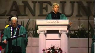 Ellen DeGeneres at Tulane