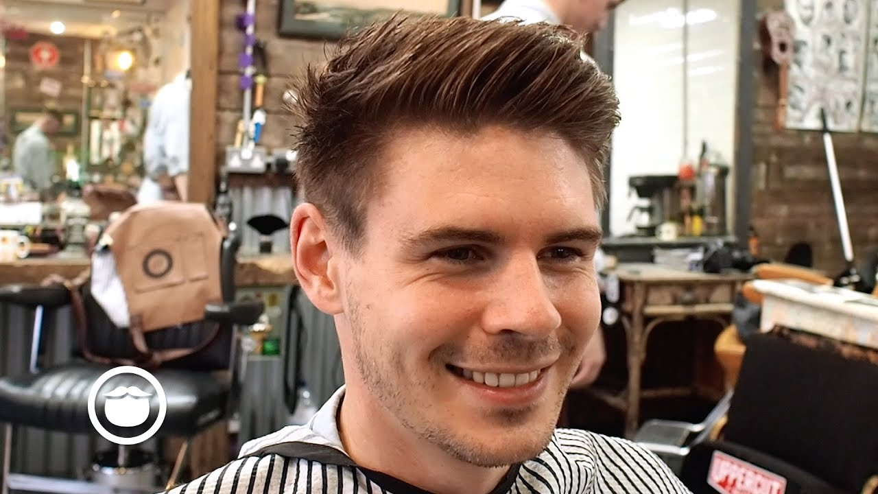 The American Crew Cut A Timeless Mens Hairstyle Youtube