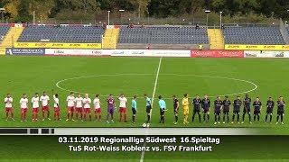 TuS Rot Weiss Koblenz Vs FSV Frankfurt