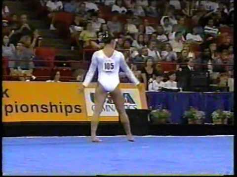 Mohini bhardwaj 1997 us nationals finals floor for Floor workout