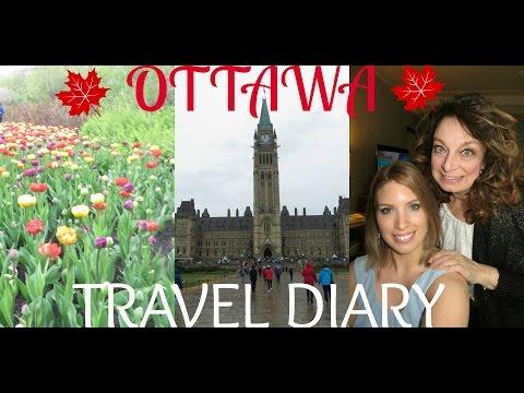 TRAVEL DIARY   OTTAWA, CANADA