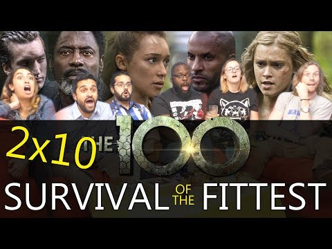 The 100 - 2x10 Survival of the Fittest - Group Reaction