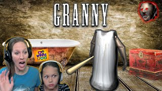GRANNY HAS NO HEAD! TRAPPED in Her House! | GRANNY IN ROBLOX