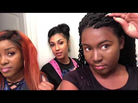 TAYLOR GIRLZ AND QUEEN GIVE ME A MAJOR MAKEOVER !!!