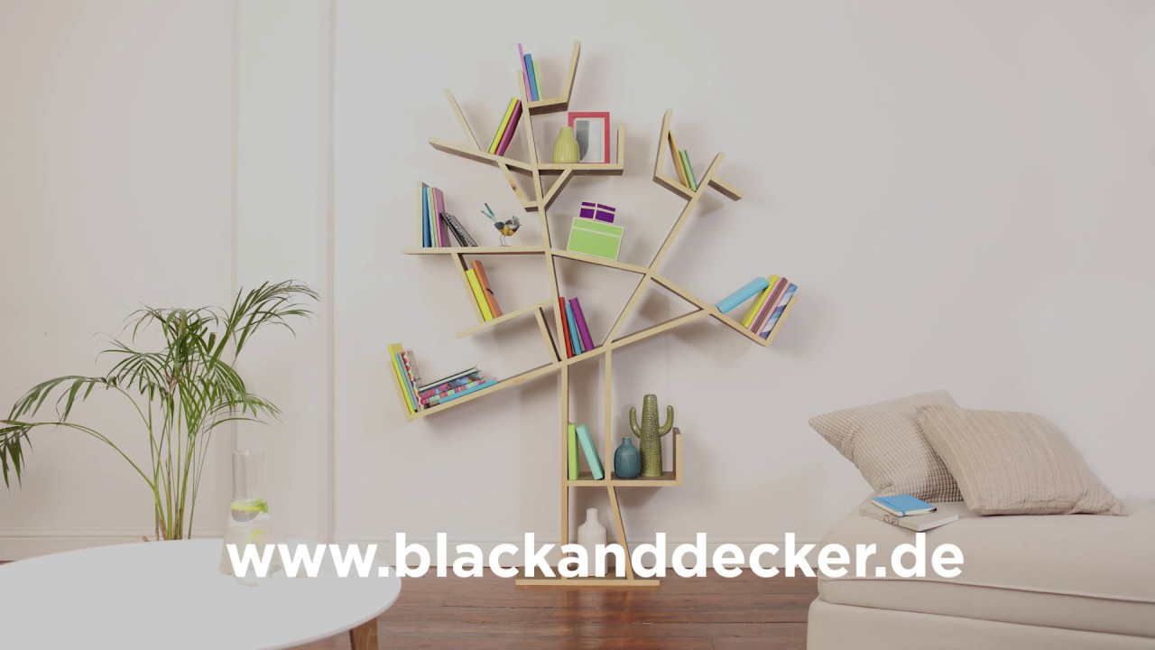 Das Black Decker Baum Regal Youtube