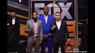 PETERSON VS LIPINETS FULL FIGHT COMMENTARY (NO VIDEO) LIVE ON FS1