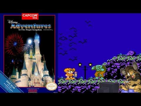 A DISNEY GAME?!?! | Adventures in the Magic Kingdom | [NES CLASSICS]