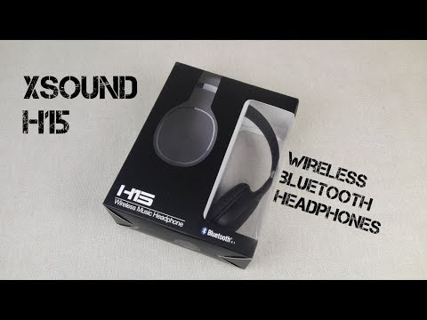 XSound H15 Wireless Bluetooth Headphone