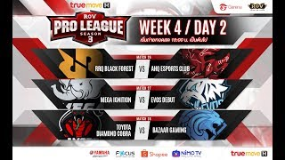 RoV Pro League Season 3 Presented by TrueMove H : Week 4 Day 2