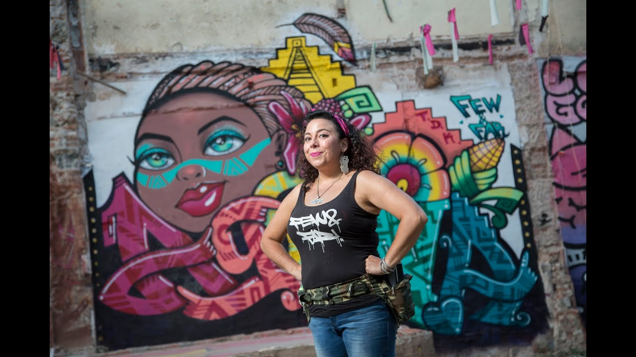 An interview with graffiti artist agana by street art mecca